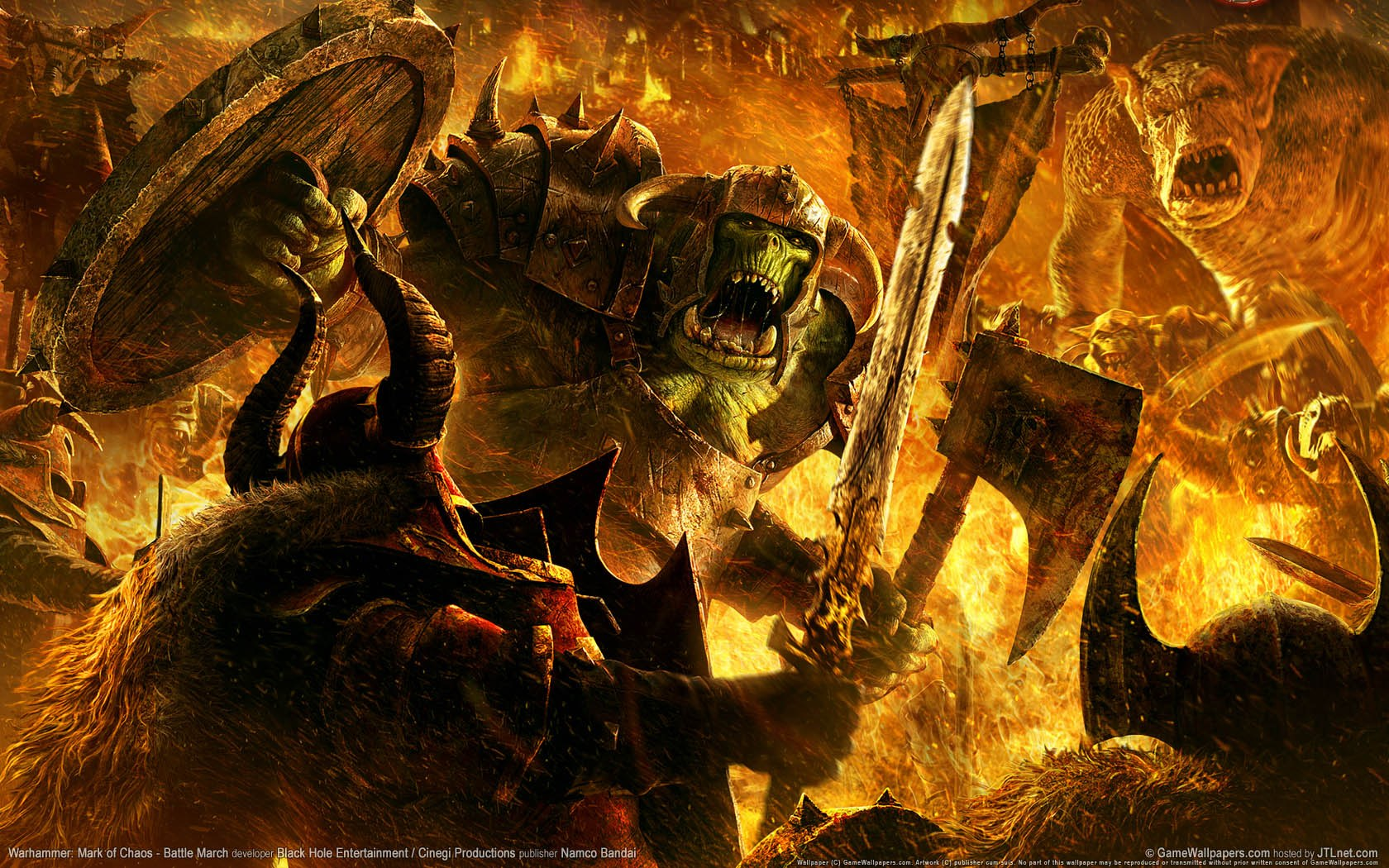 Orcs wallpapers Orcs background 1680x1050