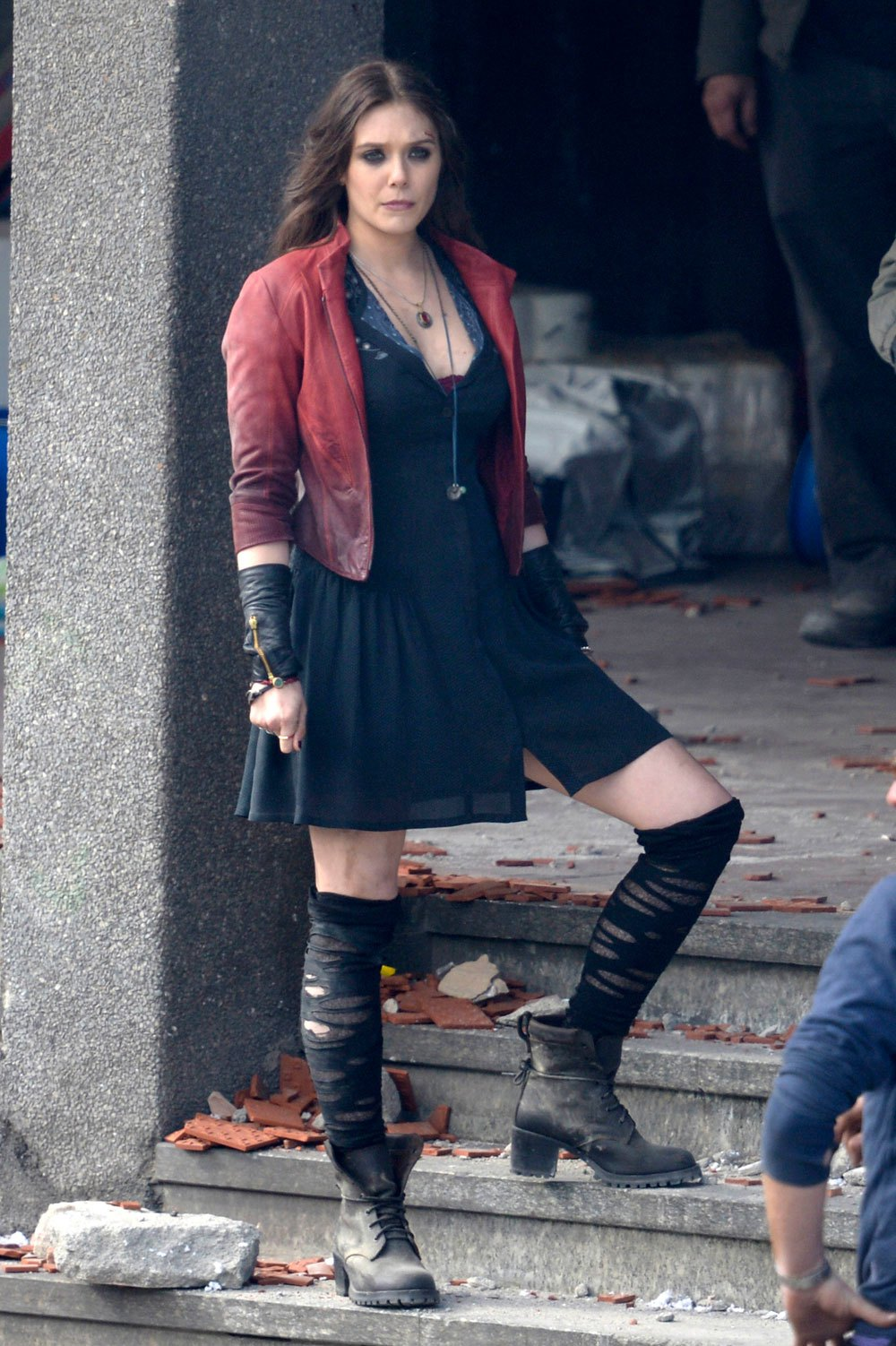 Avengers Age of Ultron Filming in Italy Pictures Galore Leak Out 1000x1502