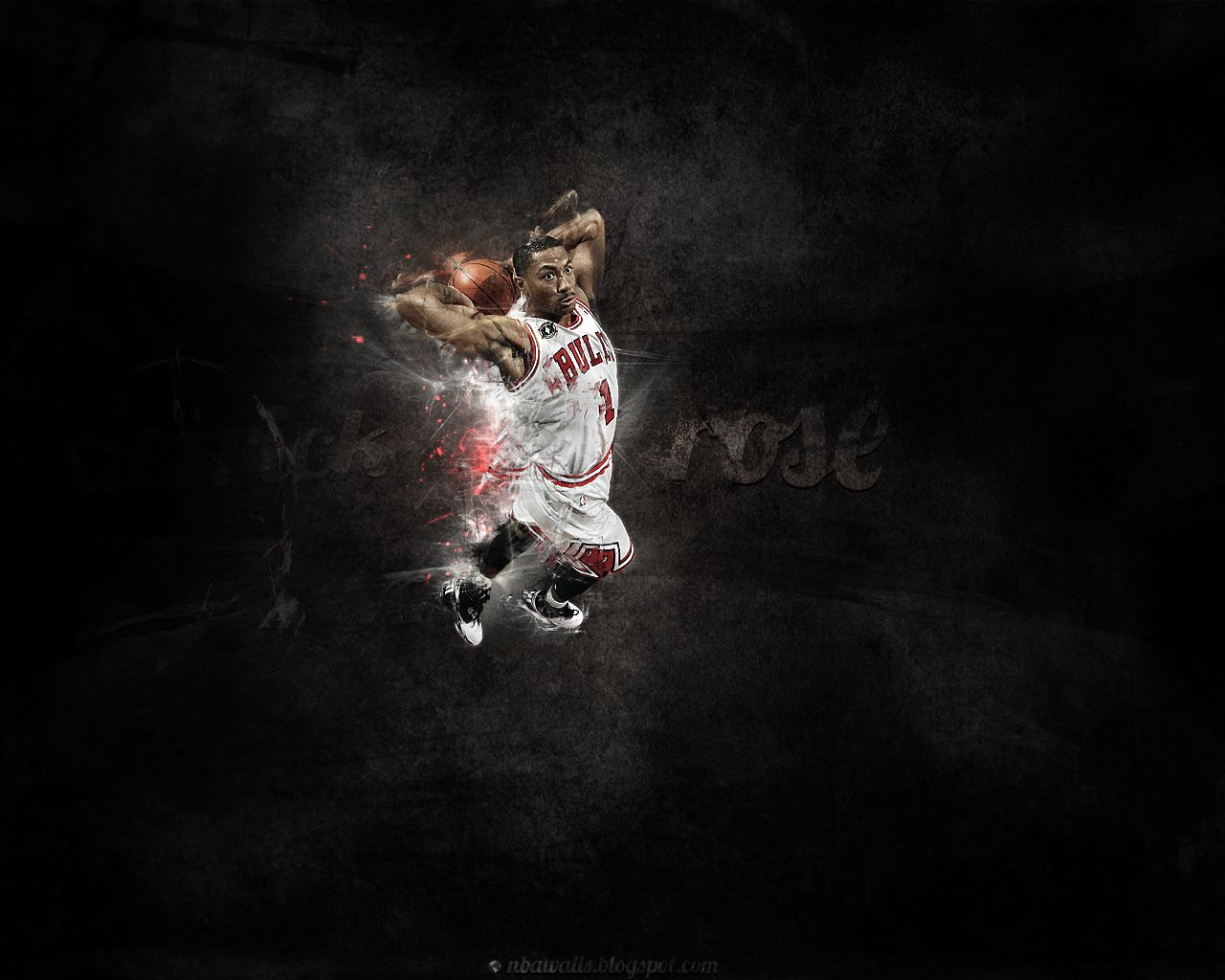 NBA Wallpaper   Derrick Rose wallpaper Chicago Bulls 1280x1024