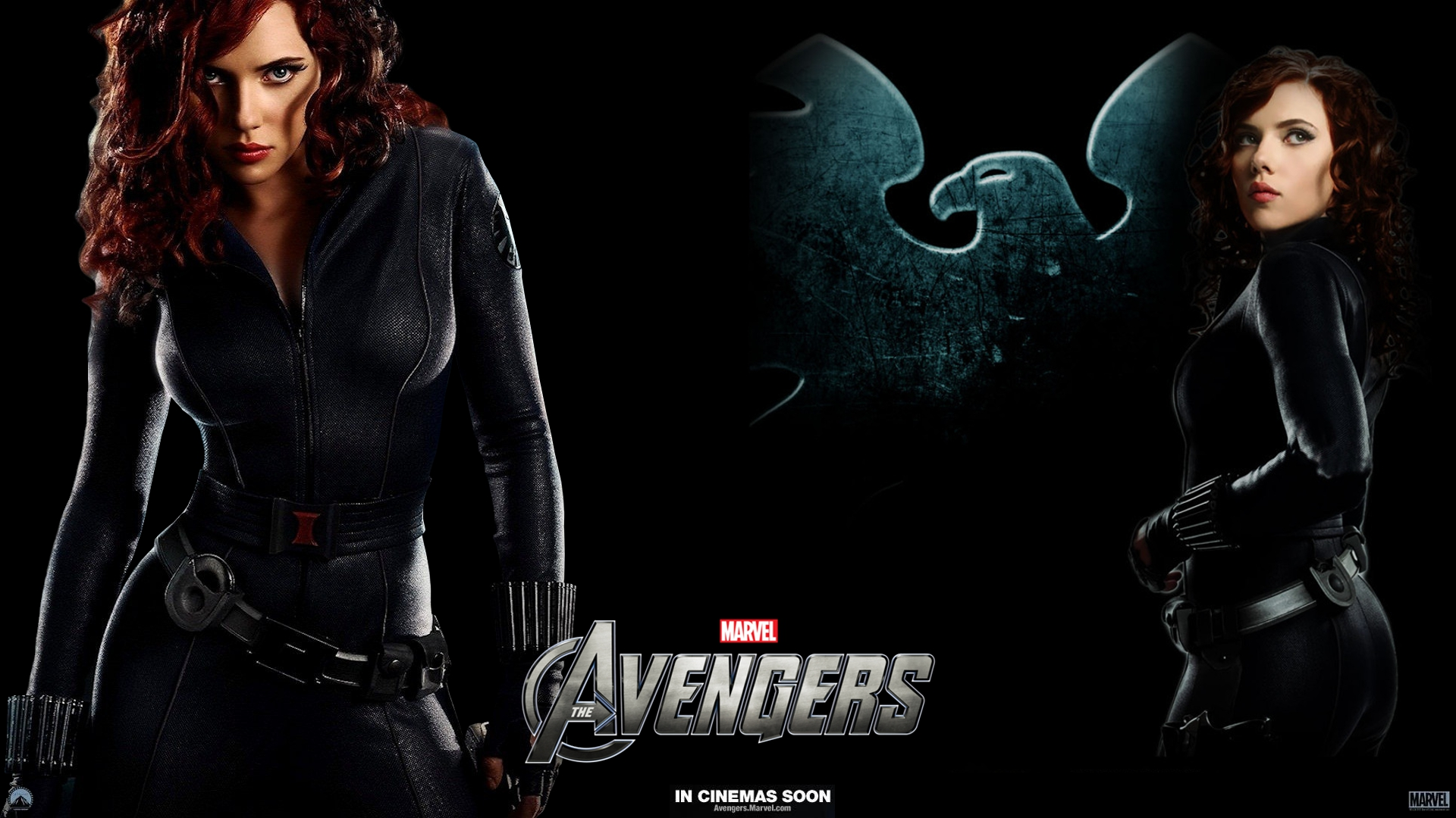 Black Widow   The Avengers Wallpaper 30878719 1920x1080