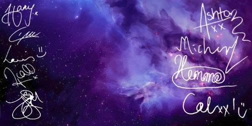 5sos Logo Galaxy