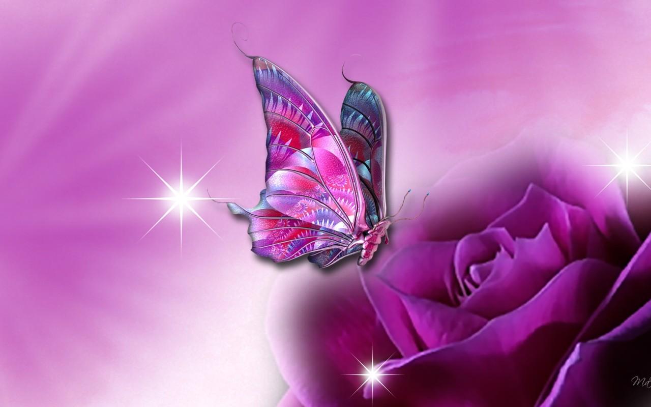 3d butterfly wallpaper for desktop unique nature hd 1280x800