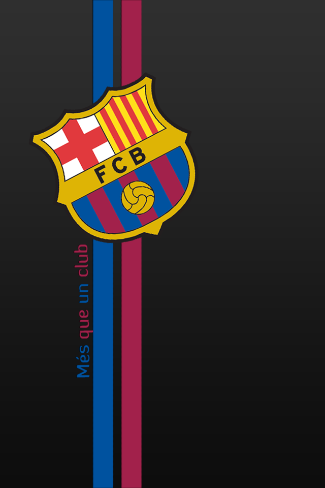 FC Barcelona iPhone 4 HD by 7TheDevil7 640x960