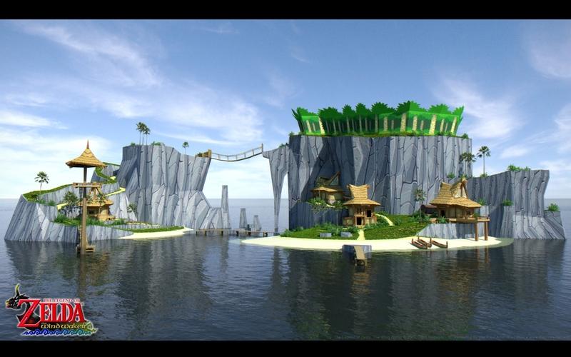wind waker outset island 1920x1200 wallpaper Video Games Zelda HD 800x500
