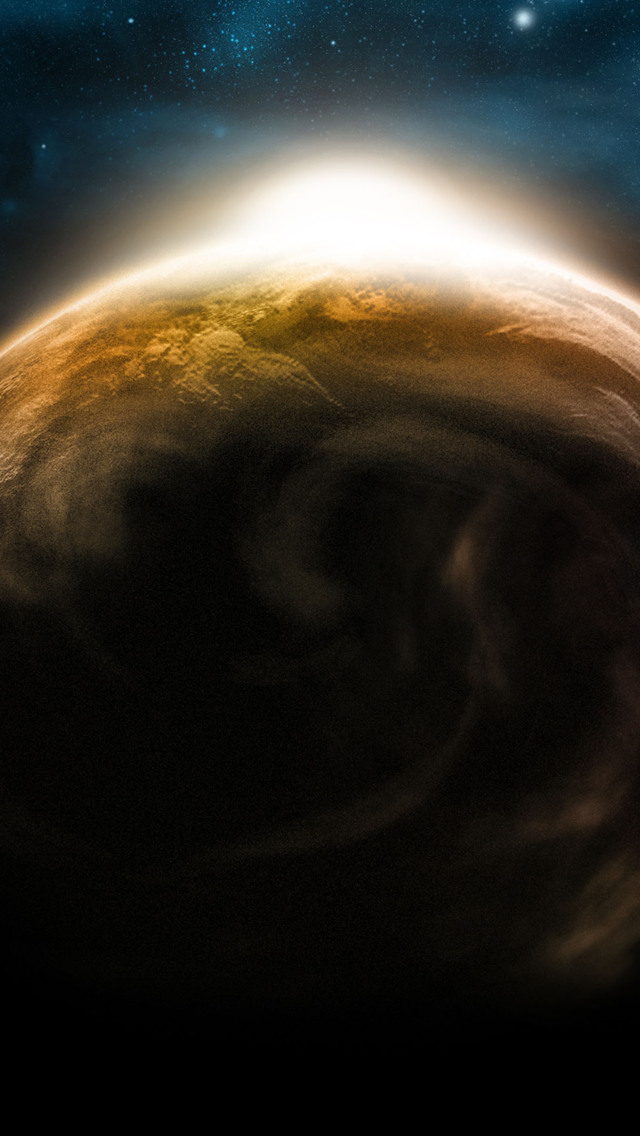 Sunrise Satellite Perspective Wallpaper   iPhone Wallpapers 640x1136