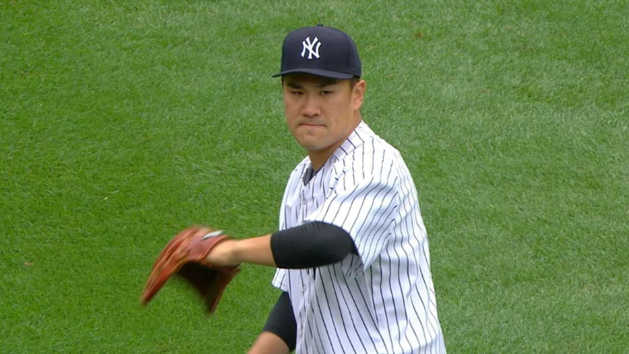 Yankees pitcher Masahiro Tanaka dominates As Yankees pictures 1280x720