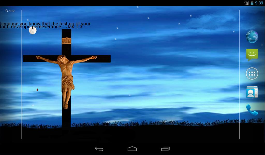 jesus on cross live wallpaper   Android Apps on Google Play 1024x600