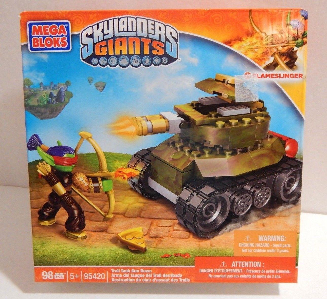 Mega Bloks Skylanders Giants Set 95420 Troll Tank Gun Down 1290x1181