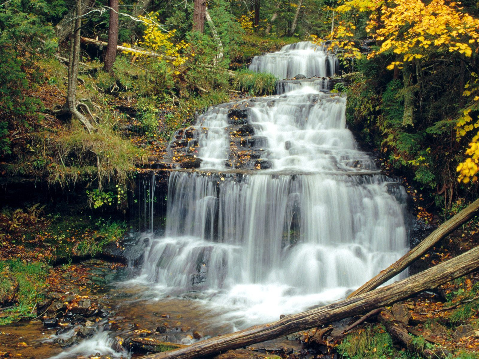 Mountains Waterfalls Wallpaper 5833989 1600x1200