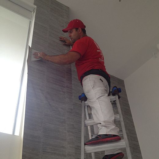 Commercial Wallpaper Installation Services 520x520