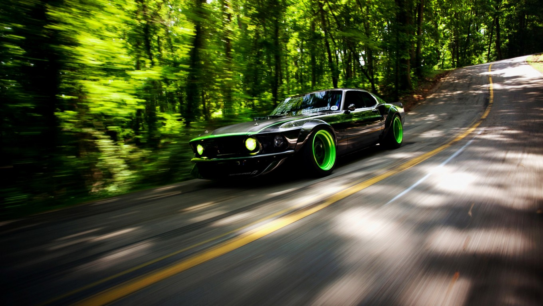 Ford Mustang Racing Car HD Wallpaper Stylish HD Wallpapers 1360x768