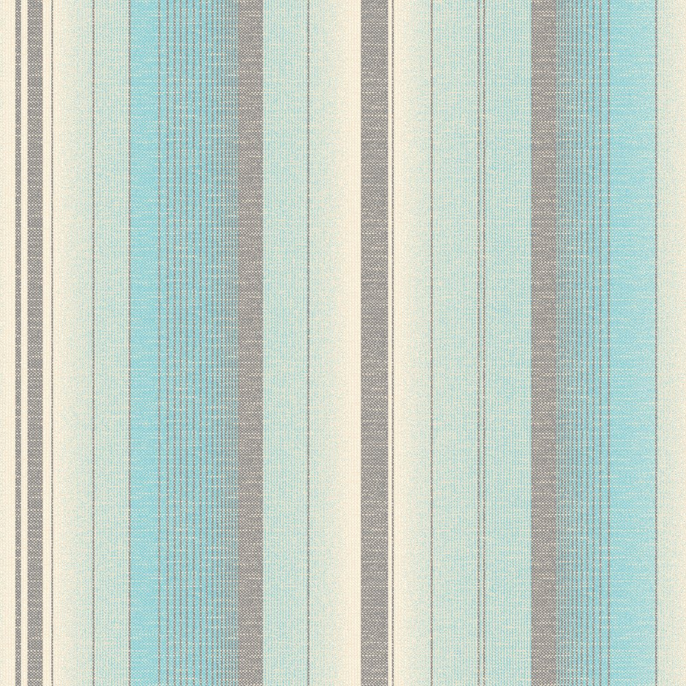Striped Wallpaper Teal Cream   Fine Decor from I love wallpaper UK 1000x1000
