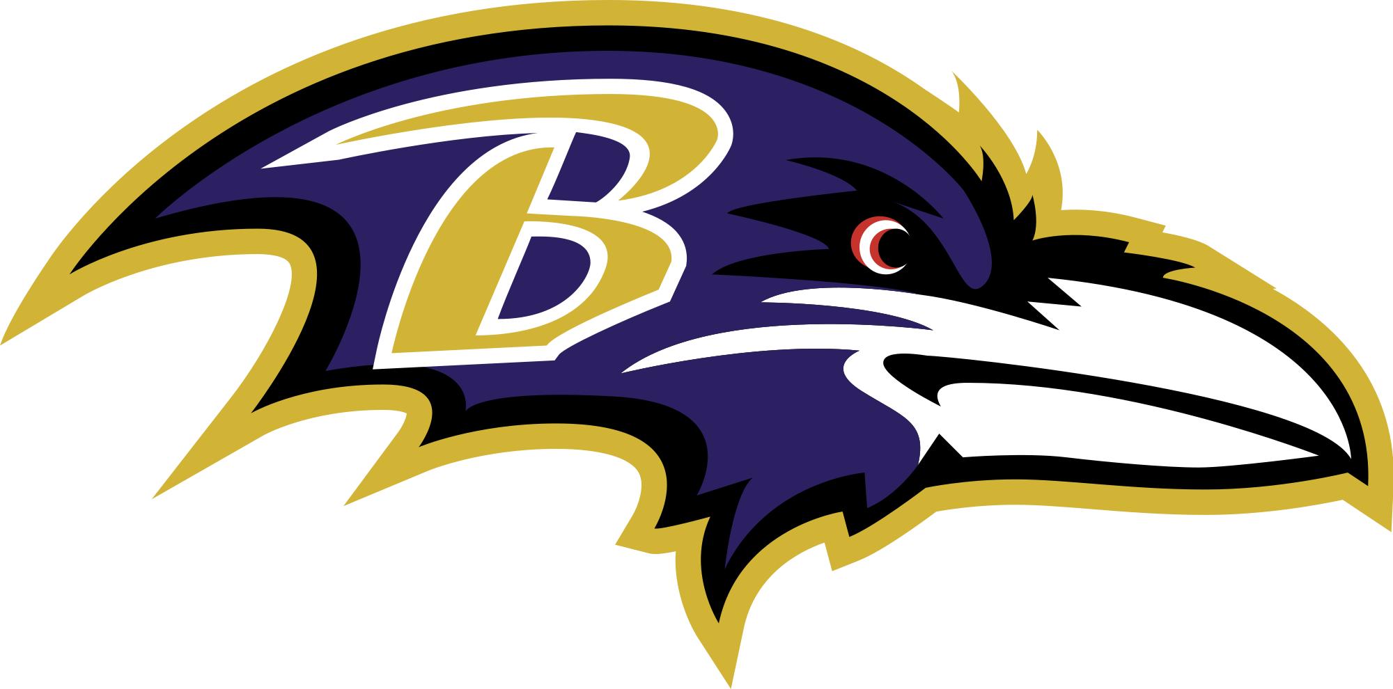 Baltimore Ravens Logo Wallpaper 2000x990