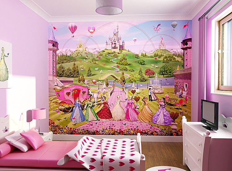 kids bedroom wallpaper 750x555