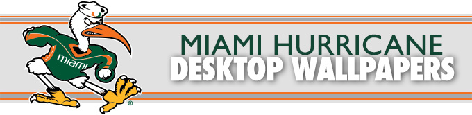 University of miami football wallpaper wallpapersafari 2013 14 wallpapers university of miami hurricanes official athletic voltagebd Choice Image