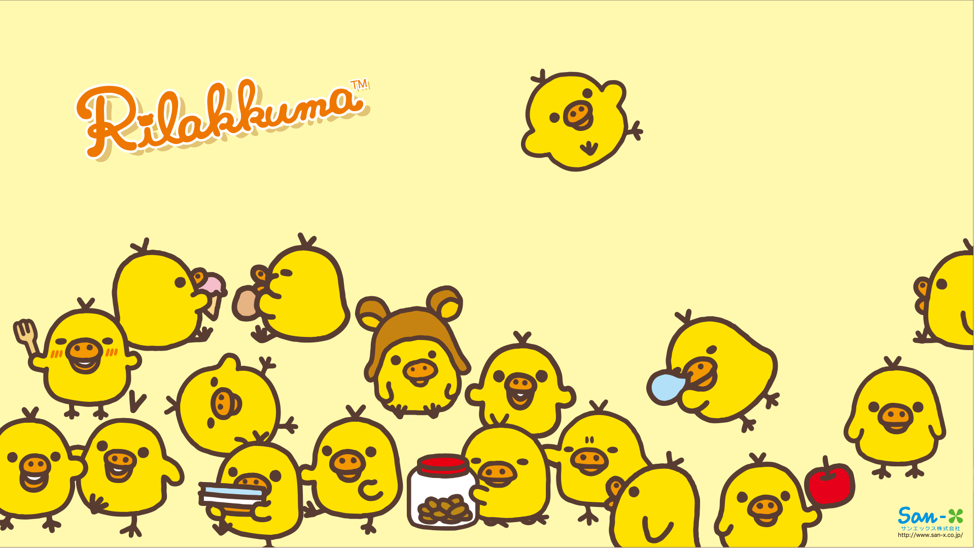 Wallpaper iphone san x - Rilakkuma Wallpaper 13