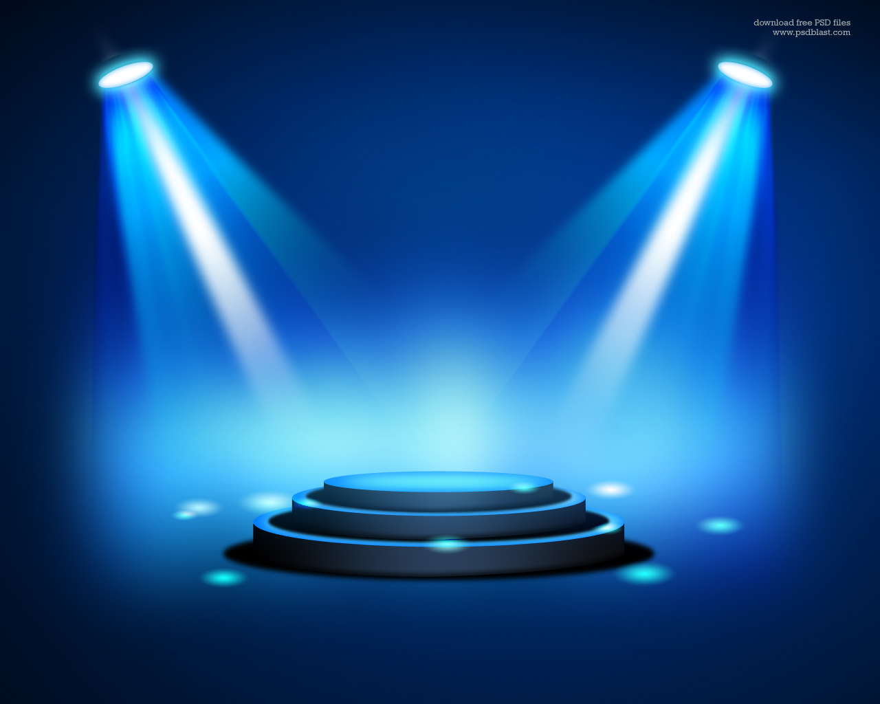 Stage Lighting Background with Spot Light Effects PSD Psdblast 1280x1024