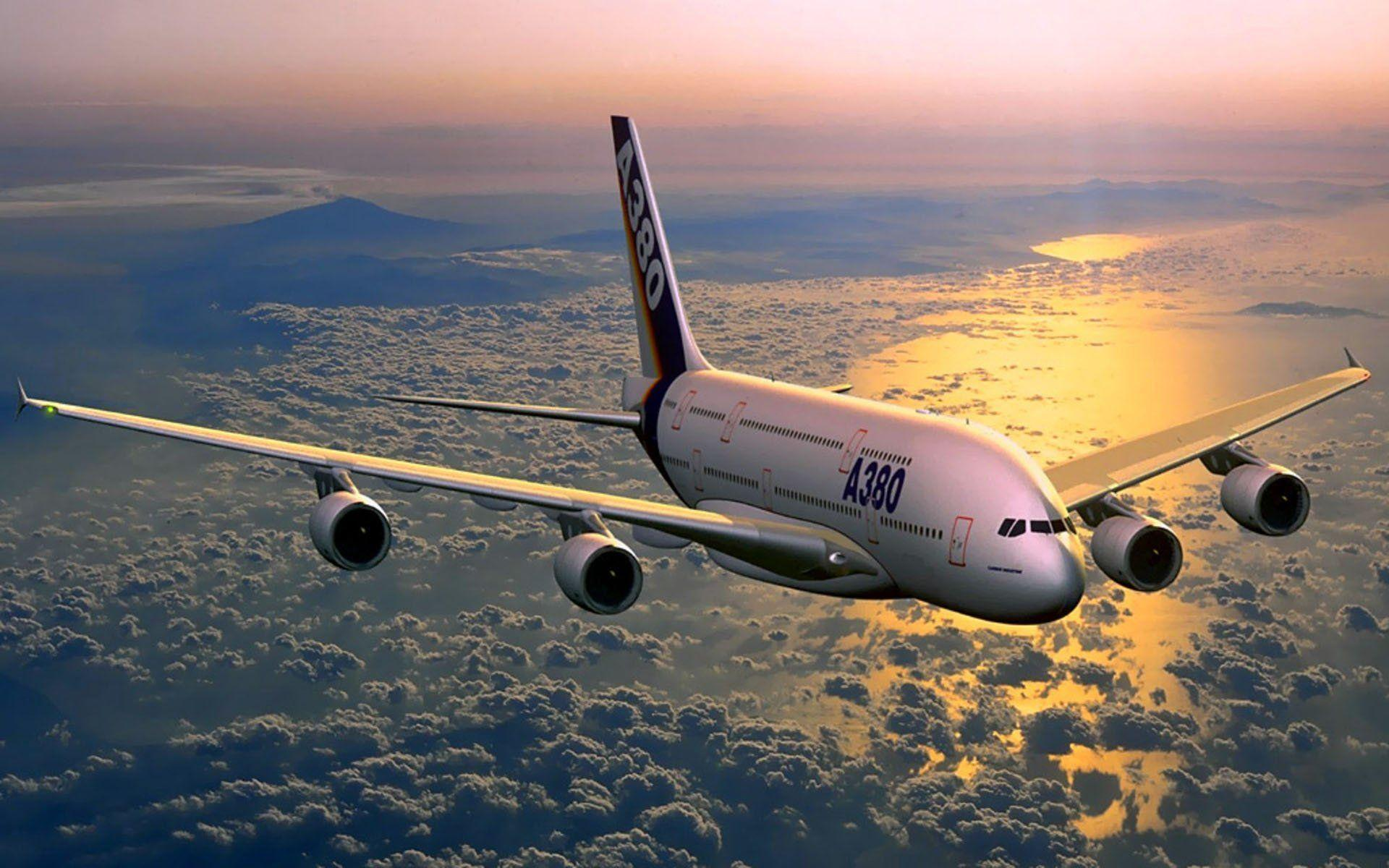 Airbus A380 Wallpapers 1920x1200