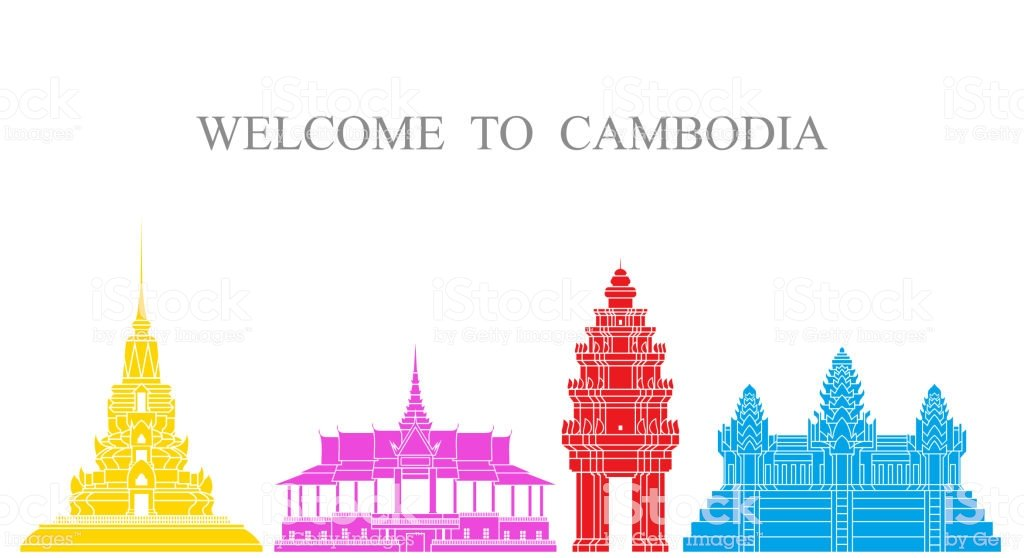 Abstract Architecture Isolated Cambodia Architecture On White 1024x558