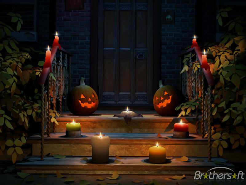 Halloween 3D Screensaver Happy Halloween 3D Screensaver 10 Download 800x600