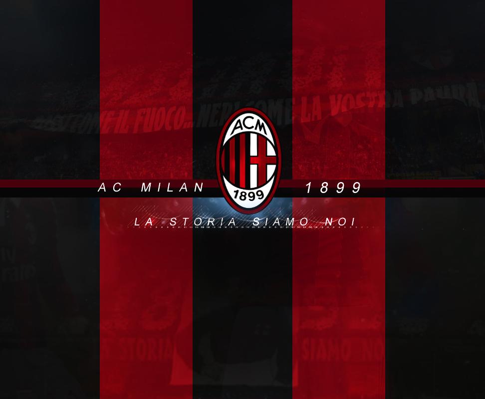 AC Milan Wallpaper V2 by NoSense Design on deviantART 972x800