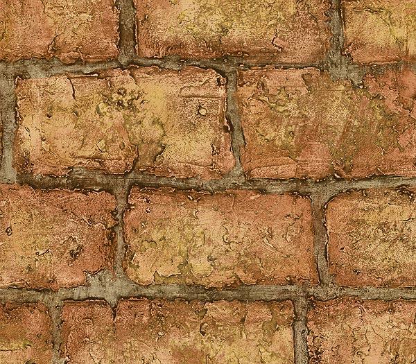 Deluxe Faux Brick Wallpaper 229160 Home Design Ideas 600x525