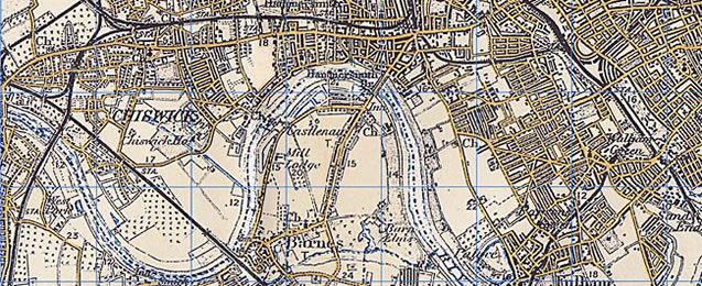 Historic Wallpaper Map New Series close up 637x260