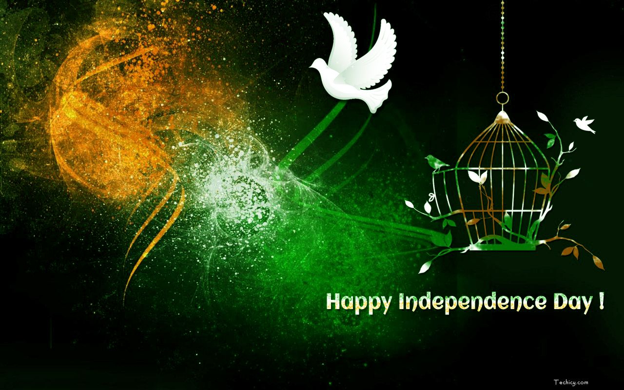 15 August Independence Day Wallpaper Hd   Indian Flag Background 1280x800