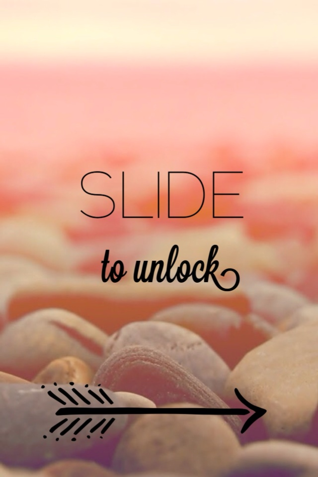 Slide To Unlock iPhone 4 Wallpaper 640x960 640x960