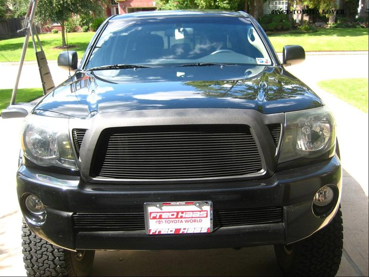 Toyota Tacoma Black Modified 720x540