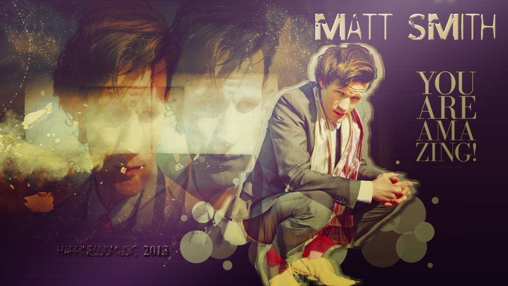 Matt Smith wallpaper 5 by HappinessIsMusic 1024x576