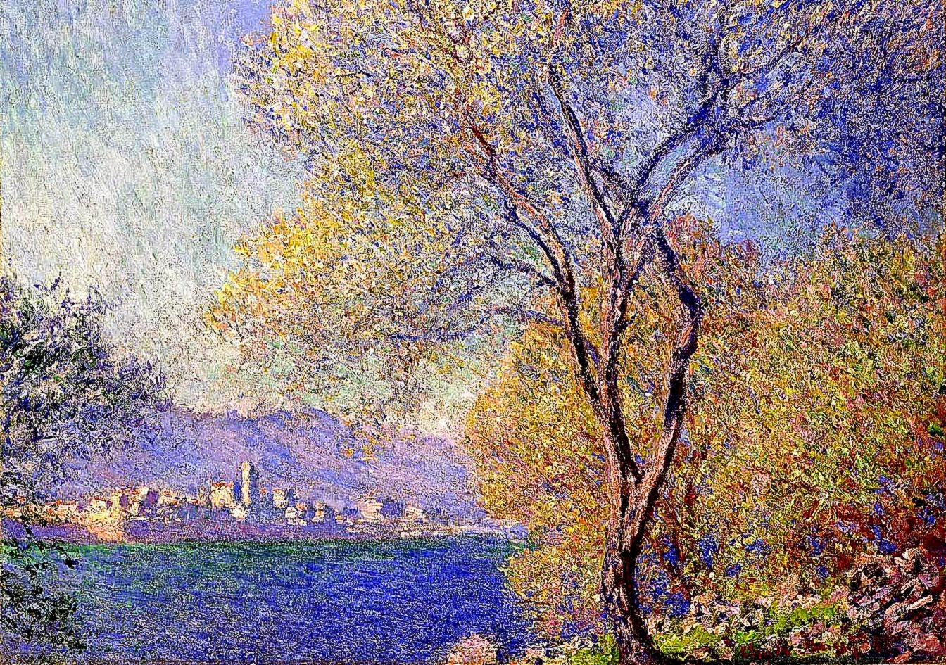 Oil Painting Impressionist Background Wallpaper Wallpaper Background 1344x945
