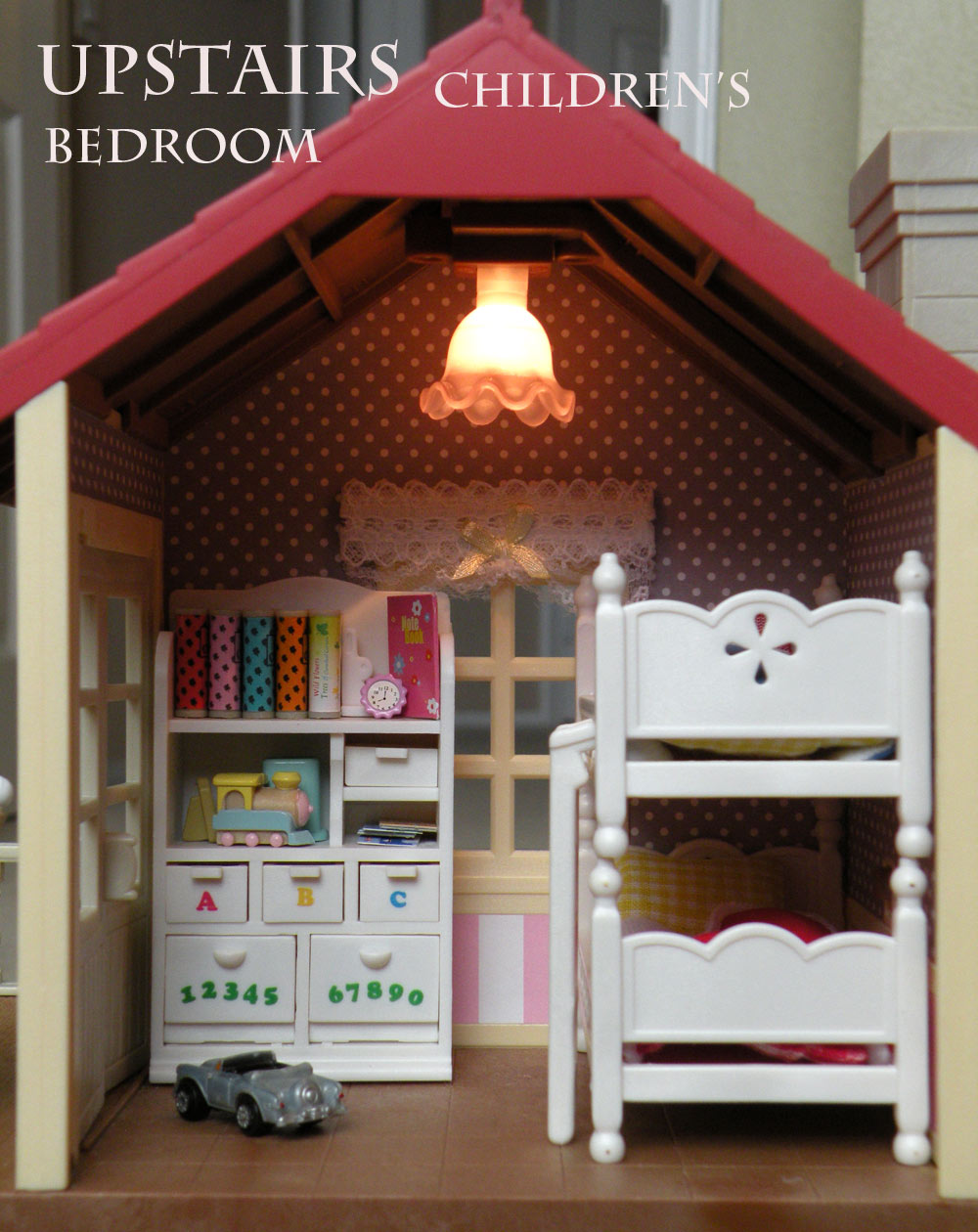 Calico Critters Sylvanian Families Luxury Townhouse Custom Wallpaper 1000x1260