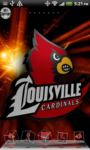 LOUISVILLE CARDINALS THEME 3D App for Android 307x512