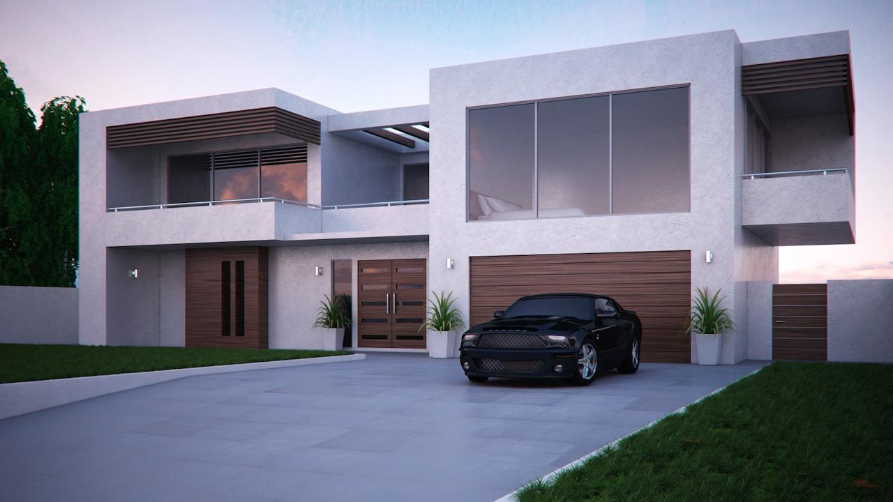 Free Download Ultra Modern House Minecraft Modern House