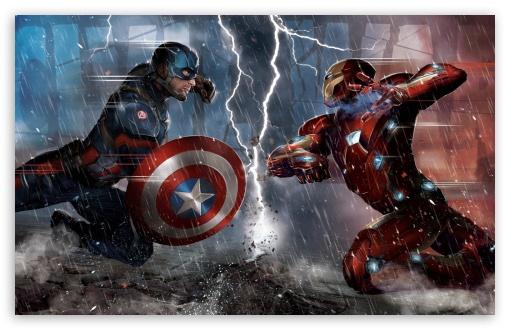 Captain America Civil War Concept HD wallpaper for Standard 43 54 510x330