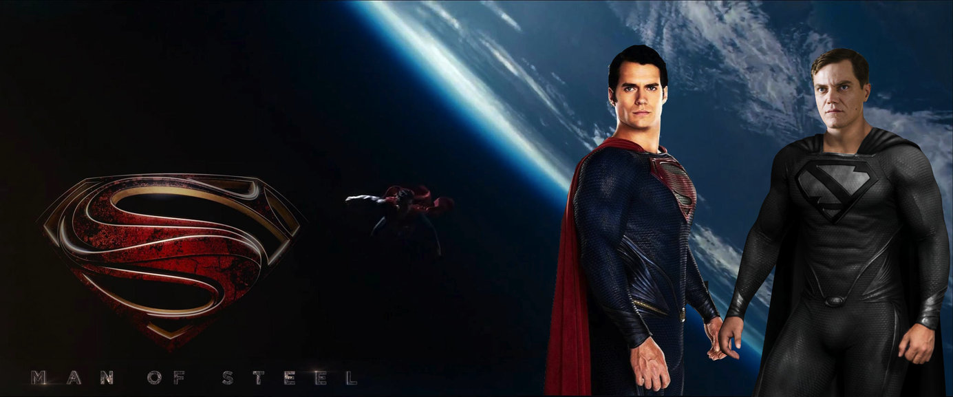 Man of Steel Superman vs Zod Wallpaper by nickelbackloverxoxox on 1385x577