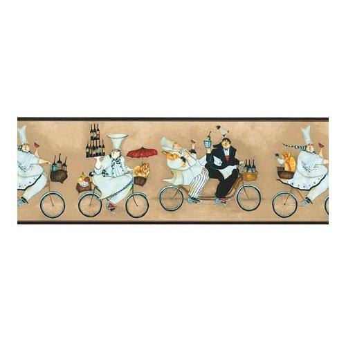 Amazoncom Fat Chef Wallpaper Border Jennifer Garant Kitchen sb10294b 500x500