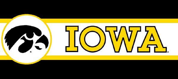 Iowa Hawkeyes Wallpaper Iowa hawkeyes 7 tall 600x267