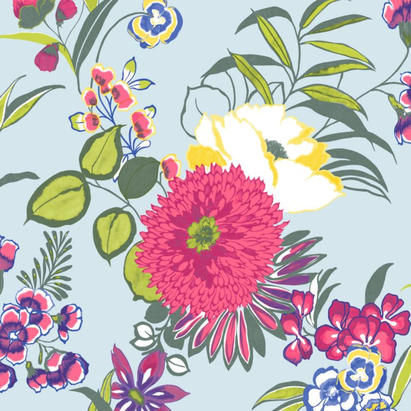 Wall Wallpaper in Multicolour by Colours customer reviews   product 800x800
