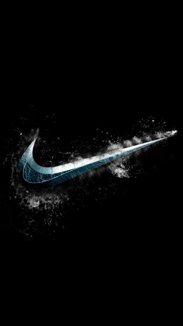 Cold Nike Logo Wallpaper   iPhone Wallpapers 640x1136