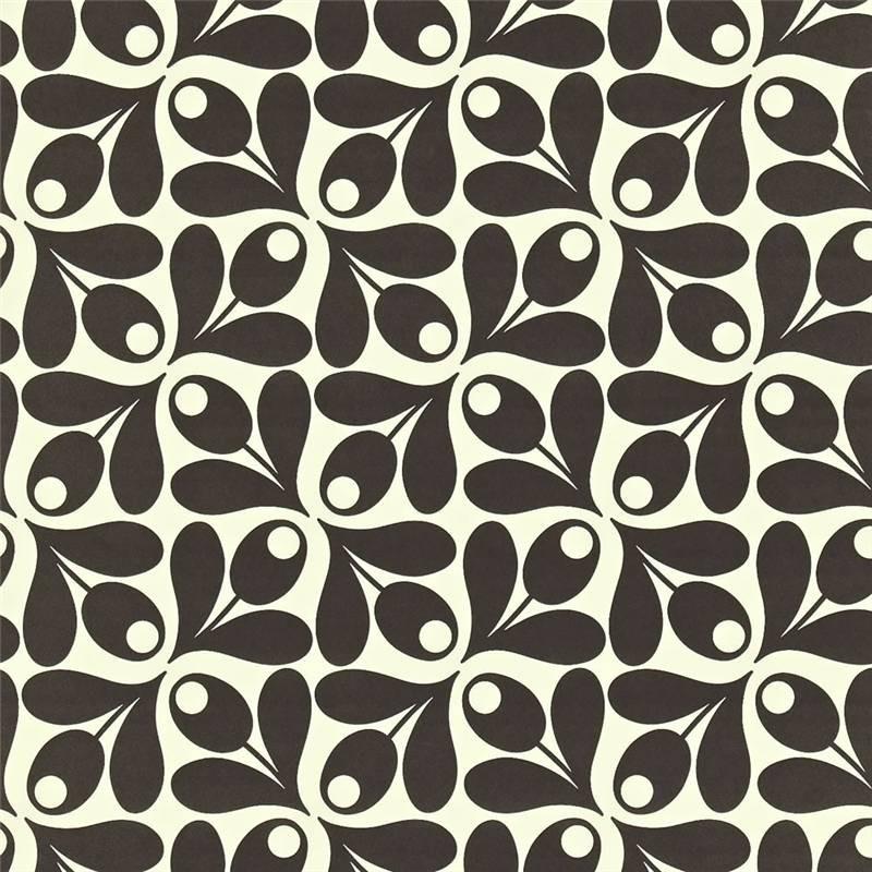Ebony   110415   Small Acorn Cup   Orla Kiely   Harlequin Wallpaper 800x800