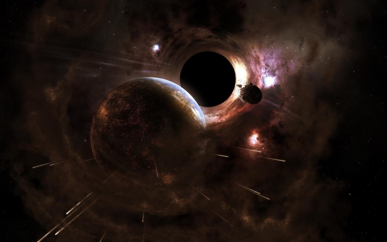 Black hole Desktop wallpapers 1440x900 1440x900