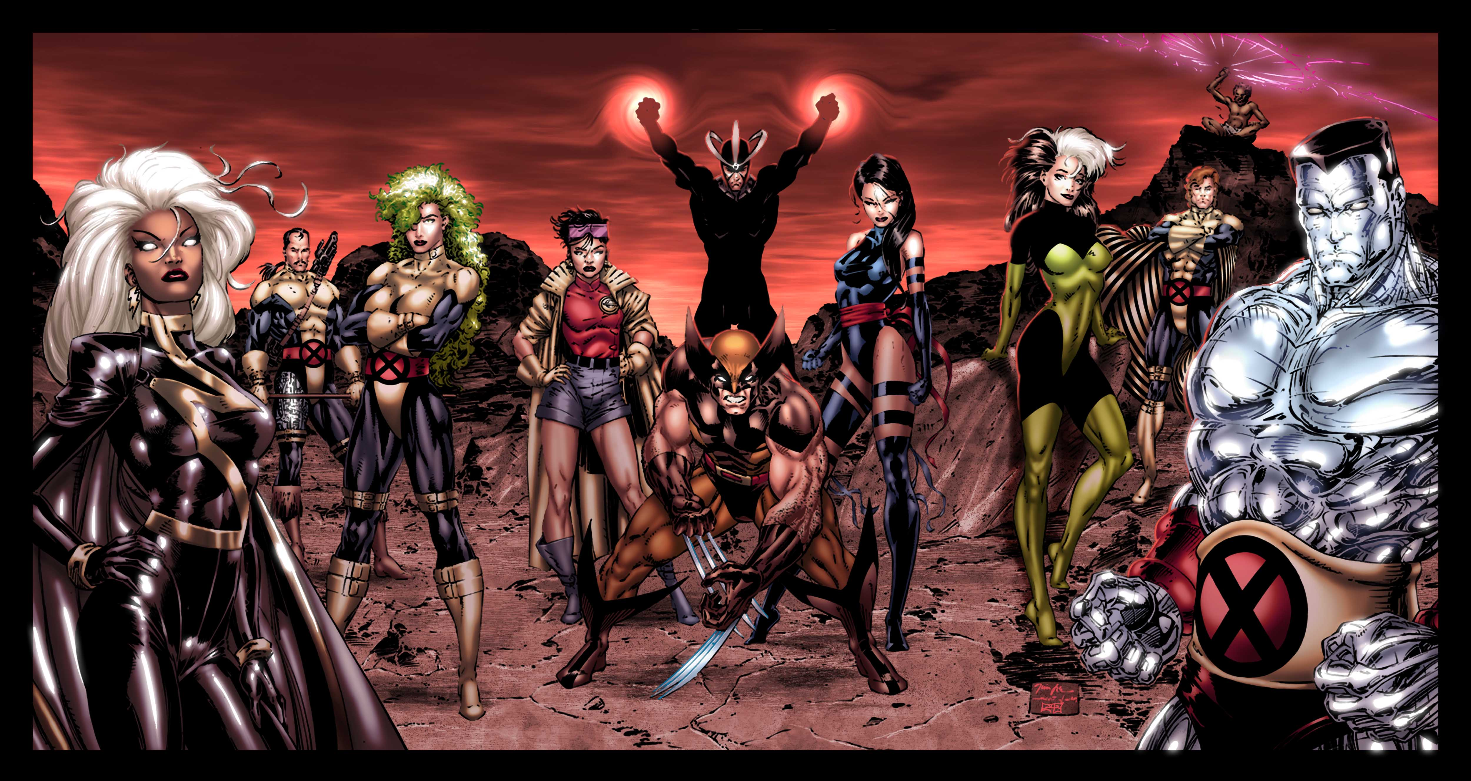 90s X Men Computer Wallpapers Desktop Backgrounds 5000x2653 ID 5000x2653
