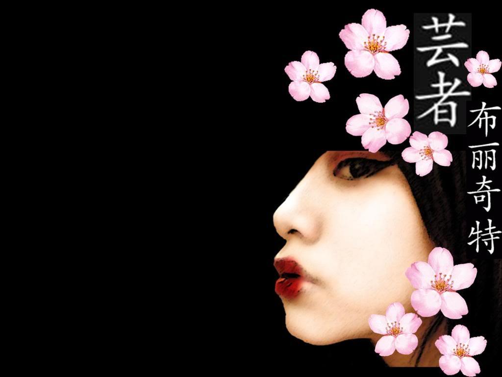 Anime Geisha Desktop Wallpapers 1024x768