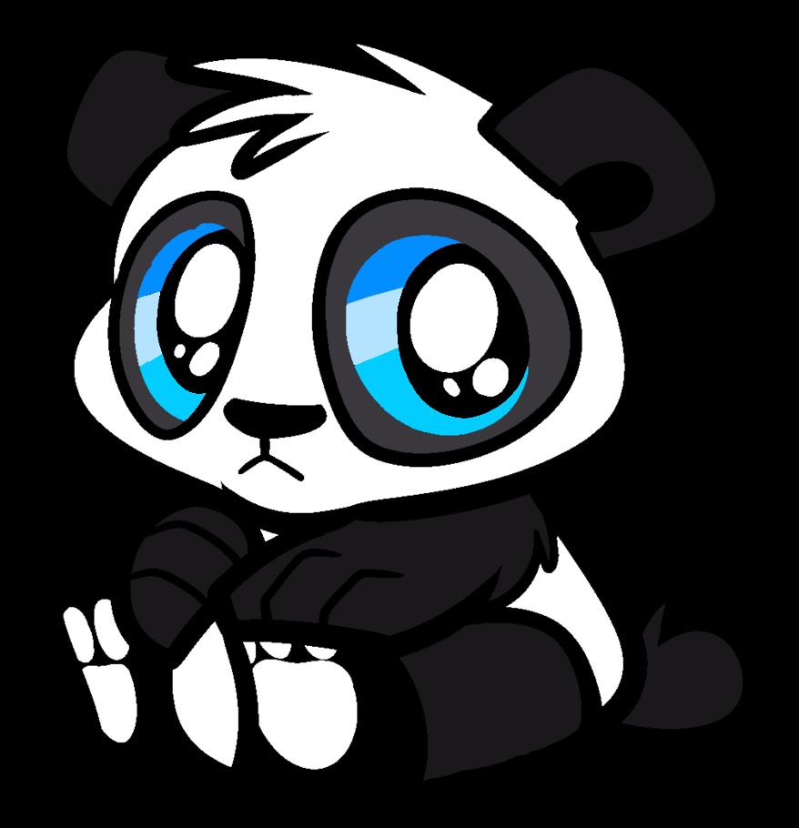 Cute Panda Bear by parry90118 878x910