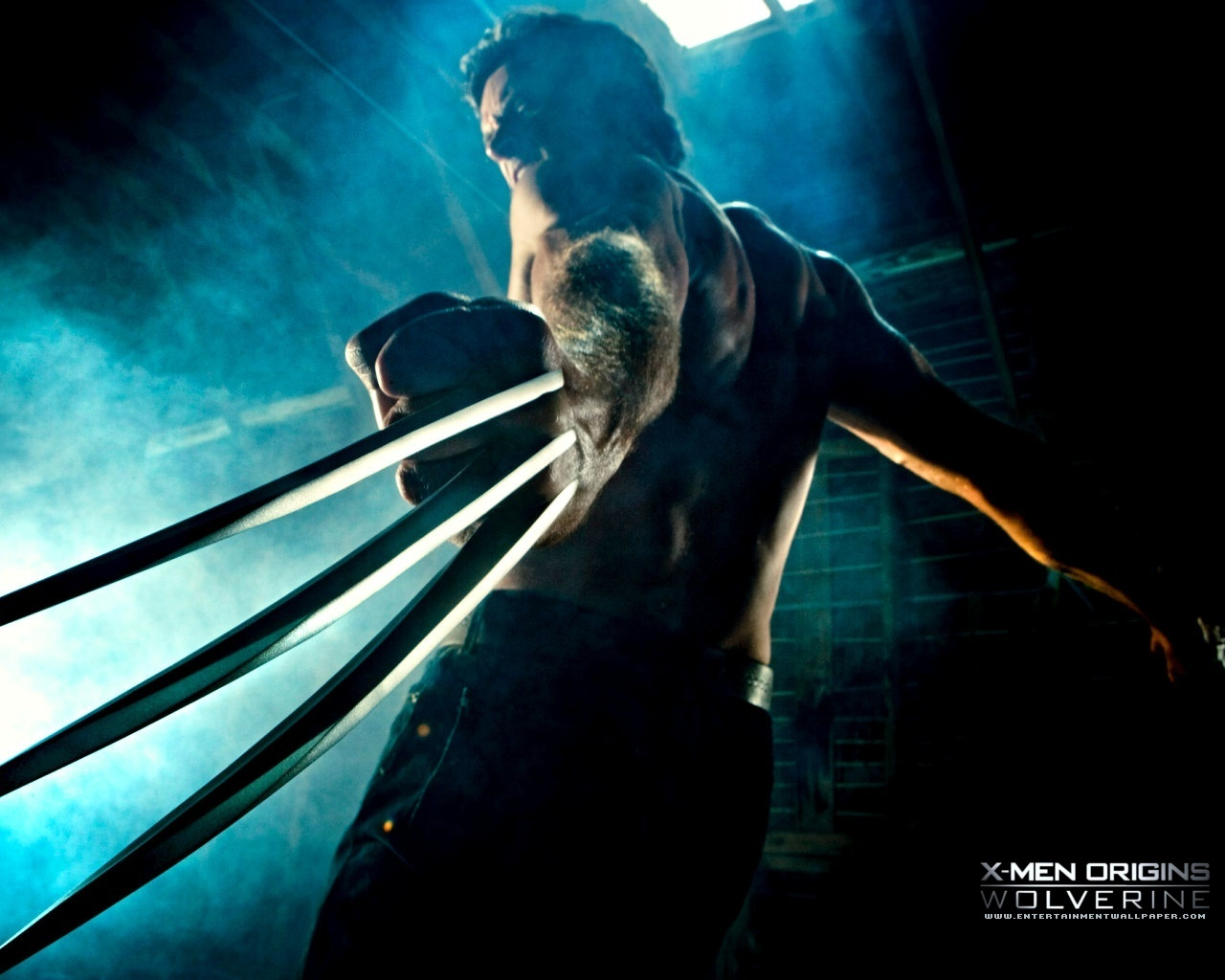 Men Origins Wolverine Wallpaper   Upcoming Movies Wallpaper 1280x1024