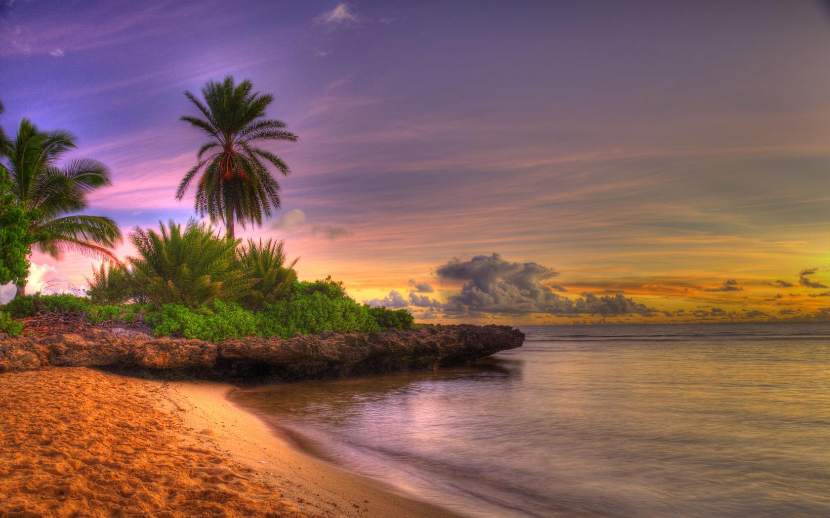 Tropical island wallpaper 16915 1680x1050