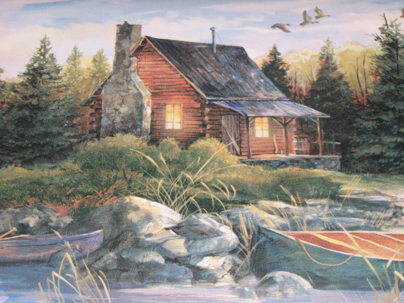 D log cabin wallpaper wallpapersafari