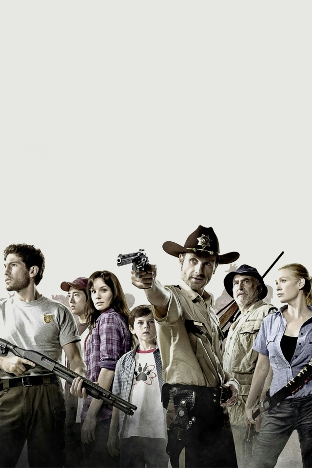The Walking Dead iPhone 4 Wallpaper and iPhone 4S Wallpaper 640x960
